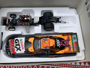John Force Norwalk Night Under Fire Halloween Funny Car 124 Rare And Signed