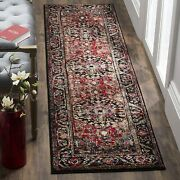 Safavieh Vintage Hamadan Collection Vth215a Red And Multi Runner 2and0392 X 14and039