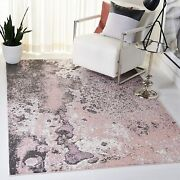Safavieh Glacier Collection Gla124u Modern Contemporary Abstract Area Rug 8and039 X