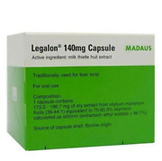 5 X 30's Legalon 140mg Madaus Germany Traditionally Used For Liver Milk Thistle