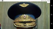 Ussr Soviet Army Ceremonial Cap With Embroidery Vdv Marshal Size 59 New