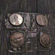 Lot Of 9 Сommemorative Coins Soviet Union 1988 Proof. 1 Rouble 1965 1967...