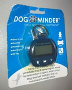 Dog E Minder Keep Track Of Your Dogs Schedule Blue Id Tag Waterproof New L@@k