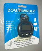 Dog E Minder Keep Track Of Your Dogs Schedule Black Id Tag Waterproof New L@@k