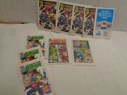 Marvel Comics 1993 Lot Of 10 From Drakes Cakes Inside Box Spiderman Wolverine