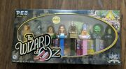 Pez Candy Dispenser Gift Set 70th Anniversary Wizard Of Oz Collectorand039s Series