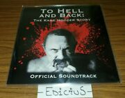 To Hell And Back The Kane Hodder Story Official Soundtrack Vinyl Rare Htf