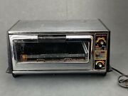 Ge General Electric Toast And039n Broil And Toast-r-oven Vintage Toaster Oven- Working