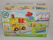 Leap Frog Leap Builders Soar And Zoom Vehicles Build And Learn Set 22 Pieces