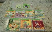 Leap Frog Tag Reader Books And Stylus Pen Interactive Reading System 7 Books.