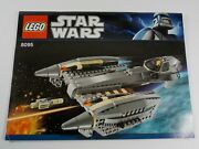 8095 Star Wars General Grievous' Starfighter Lego Instruction Manual Only 366-8