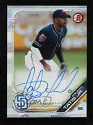 2019 Topps Industry Conference Bowman /50 Fernando Tatis Jr Rookie Auto