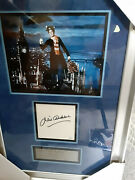 Julie Andrews Autographed Mary Poppins Display 18x26 Professional Framed Jsa