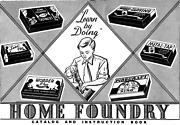 Lead Tin Toy Soldier Metal Mold Home Foundry 1930s Catalog Pdf File