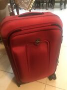 Victorinox Carry On Red With Combination Lock Luggage New With Tag