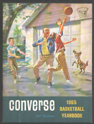 Converse Basketball Yearbook 1965-college, Pro And High School Team Info And ...