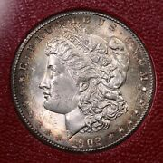 1902-s Morgan 1 From The Redfield Silver Dollar Hoard