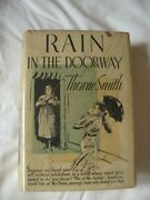 Thorne Smith. Rain In The Doorway. Signed First Edition.