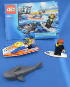 Lego City 60011 Surfer Rescue Toy Building Set Complete With Instructions