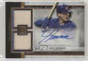 2020 Topps Museum Collection Copper /50 Nico Hoerner Ssda-bn Rookie Auto