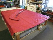 Misty Harbor 2020 2585 Ce Bimini Top Cover With Boot Utopia Red Marine Boat