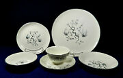 76-pcs Set For 9+ Of Taylor, Smith And Taylor Dwarf Pine Cream Pattern China