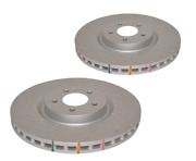 2x Dba Dba42698xd Dba 4000 Series Xd Cross Drilled Brake Rotor For Amg A45 Front