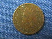 1874 Us Indian Head Small Cent One Cent