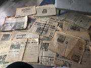 Collectible Newspapers Lot Of 18 All 1963 Kennedy Assassination And Others