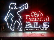 Pabst Old Tankard Ale 2 Color Gas Neon Sign With Dimmers Free Shipping
