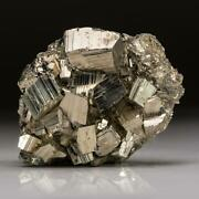Pyrite Cluster From Huanuco Province Peru 2.2 Lbs