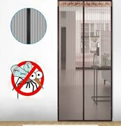 Anti Mosquito Door Curtain Magnetic Screen Net Insect Mesh Fly Screen Protection