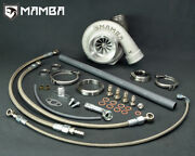Mamba Ballbearing Turbo For Rb25det 4 Twiste As Gt3584r .61 Vband In/out