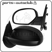 Left+right Power Memory Heated Signals Mirrors For Gmc Chevy Pair