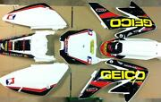 Honda Crf 70 Graphics 02-12 Graphics Only Kit W/free Decal Sheet 04-2010 Crf 80