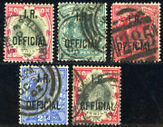 Great Britain O18 O19-o21 O23 Official Stamps Inland Revenues Collection Used