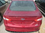 Trunk/hatch/tailgate Rear View Camera With Spoiler Fits 13-16 Fusion 2210374