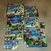 Chima Lego Set Misc. In/complete 70003 70013 70003 70006 70001 70005 70000 Lot
