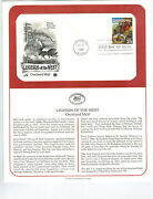 First Day Issue Overland Mail Cover And Fact Sheet Usa Stamp,year 1994, 23