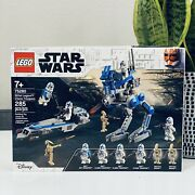 Lego Star Wars 75280 501st Legion Clone Troopers Battle Pack And Droids New Sealed