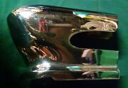 1955 Desoto Chrome Front Grille Teeth Bumper Guards Pair Of Rh