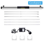 Geekpure Ultraviolet Light Uv Water Purifier Whole House Filter 55 W 12gpm 1npt