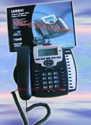 Uniden Ucis-125 3 Line Telephone Corded Black Business Phone Executive Series