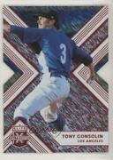 2018 Panini Elite Extra Edition Status Red Die-cut /99 Tony Gonsolin 139