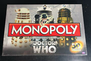 Doctor Who 50th Anniversary Edition Monopoly Dr Who