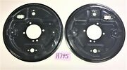 Used Oem ... 1962 - 1980 Mgb Rear Axle Backing Plate Set Right And Left Side H745