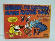 Mike Peters Signed And Illustrated Grimmythe Postman 1st Ed Tpb Full Page I