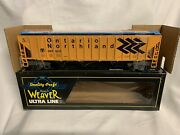 ✅weaver Ontario Northland Ps-2cd Covered Hopper Car W/ Lionel Couplers Canada