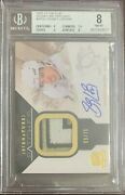 2010 Upper Deck The Cup Signature Patches Sp-sc Sidney Crosby Bgs 8 Auto 10