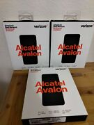 Verizon No Contract Prepaid Cell Phone Lot Of 3 Alcatel Avalon New Resell Bundle